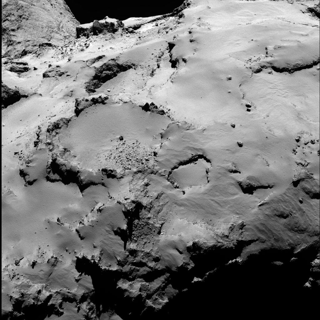 Rosseta: a primeira aterrissagem de uma m�quina humana sobre um cometa 22