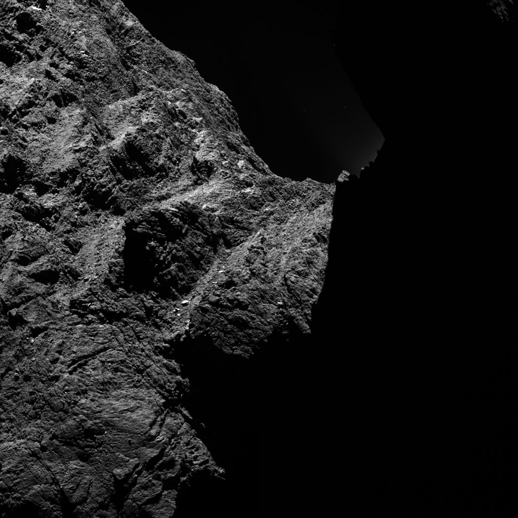 Rosseta: a primeira aterrissagem de uma m�quina humana sobre um cometa 23