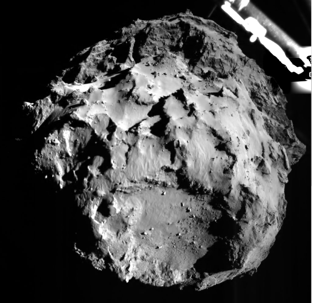 Rosseta: a primeira aterrissagem de uma m�quina humana sobre um cometa 24