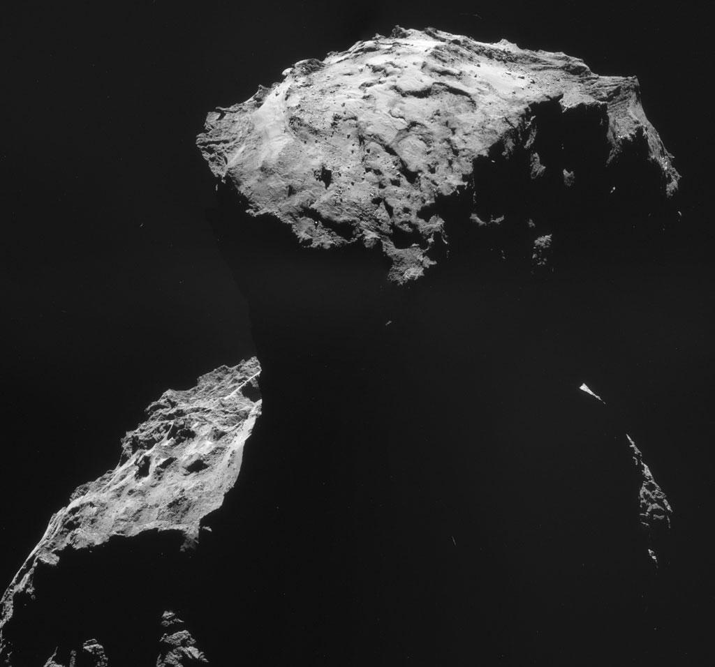 Rosseta: a primeira aterrissagem de uma m�quina humana sobre um cometa 25