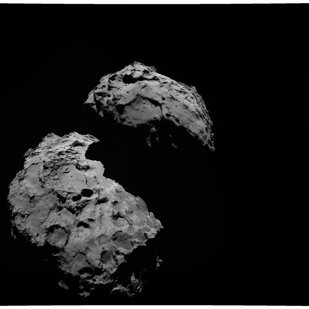 Rosseta: a primeira aterrissagem de uma m�quina humana sobre um cometa 26