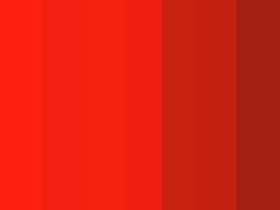 Quantos tons de vermelho é capaz de identificar nesta imagem?