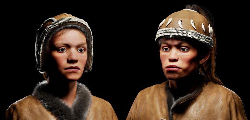 Este é o aspecto real que tinham dois adolescentes que viveram há 30.000 anos