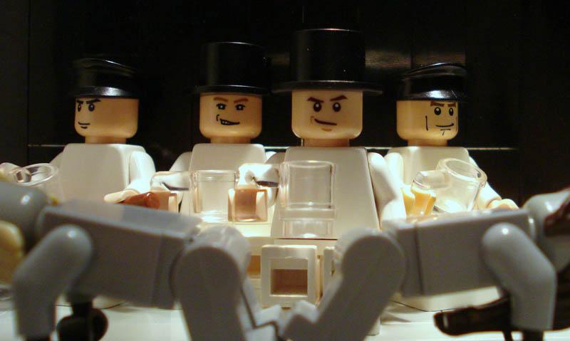 Recriando cenas de filmes famosos com Lego 06