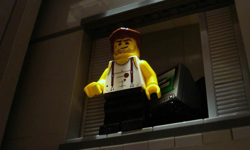 Recriando cenas de filmes famosos com Lego 07