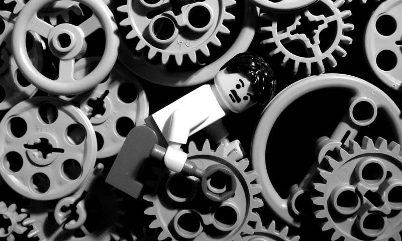 Recriando cenas de filmes famosos com Lego 11