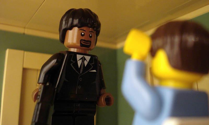 Recriando cenas de filmes famosos com Lego 13