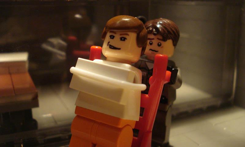 Recriando cenas de filmes famosos com Lego 16