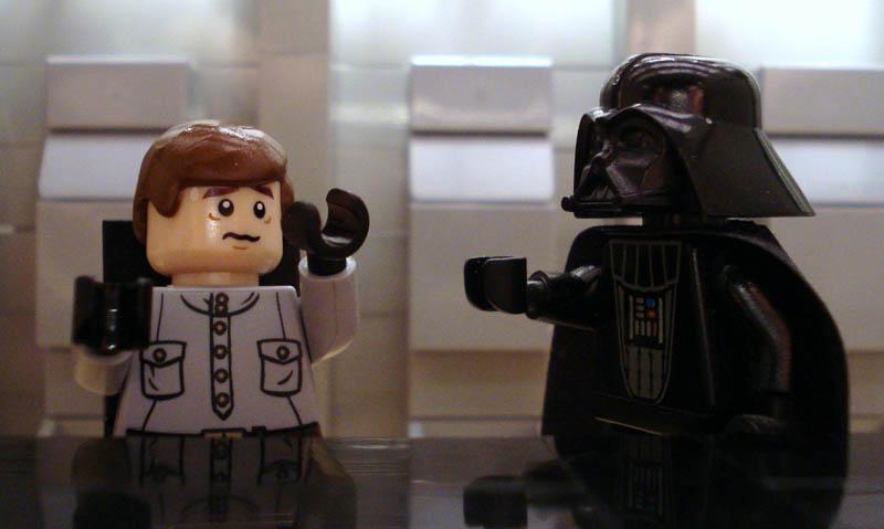 Recriando cenas de filmes famosos com Lego 17