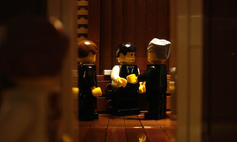 Recriando cenas de filmes famosos com Lego 21
