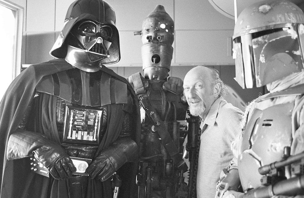 90 fotos únicas dos bastidores de Star Wars 04
