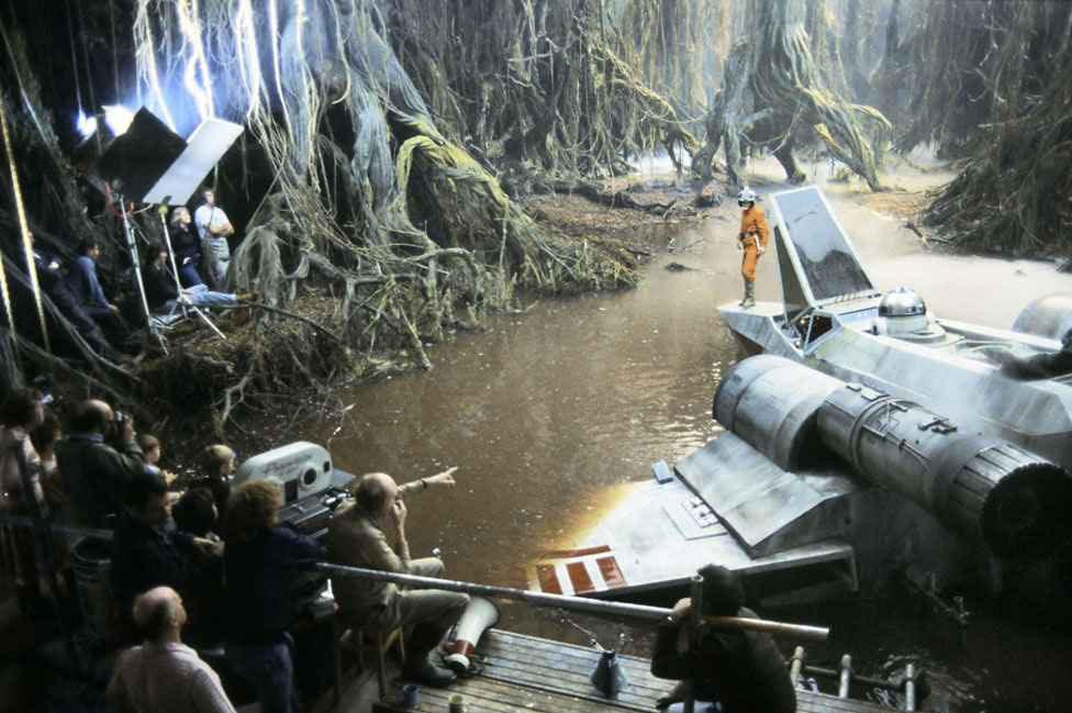 90 fotos únicas dos bastidores de Star Wars 05
