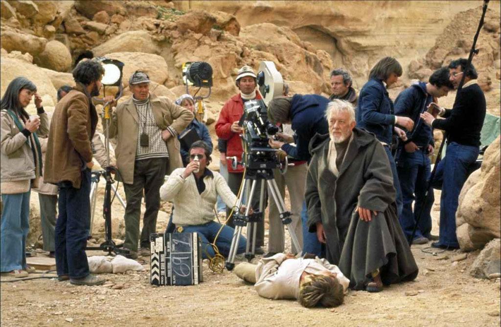 90 fotos únicas dos bastidores de Star Wars 11