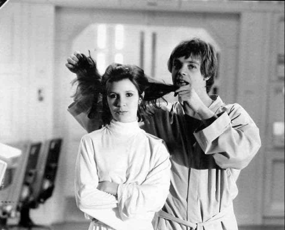 90 fotos únicas dos bastidores de Star Wars 14