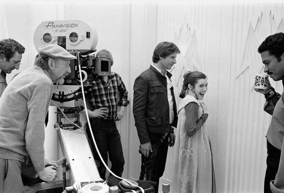 90 fotos únicas dos bastidores de Star Wars 17