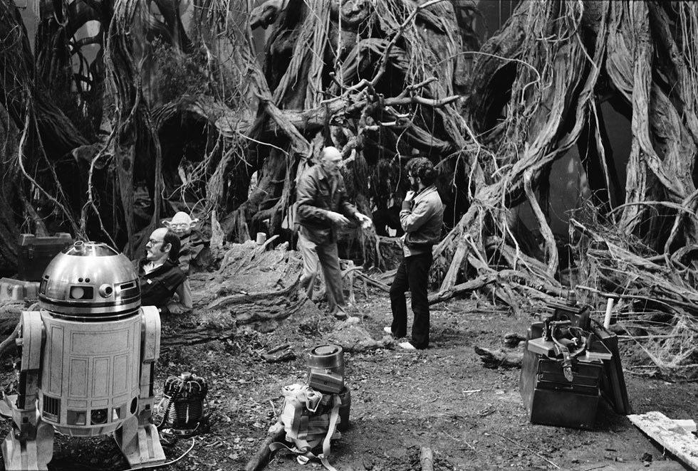 90 fotos únicas dos bastidores de Star Wars 20