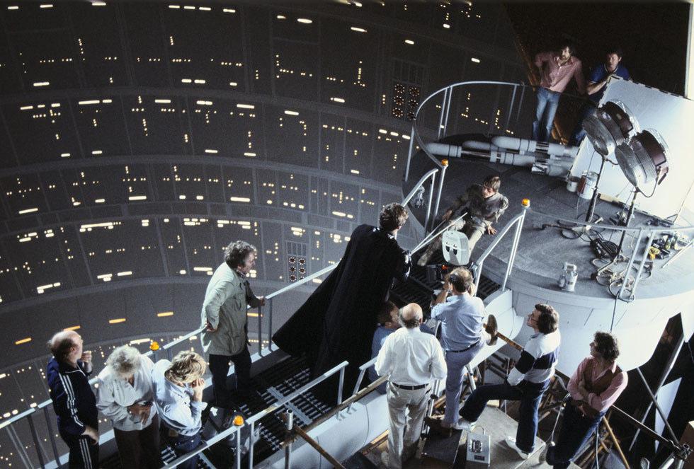 90 fotos únicas dos bastidores de Star Wars 21