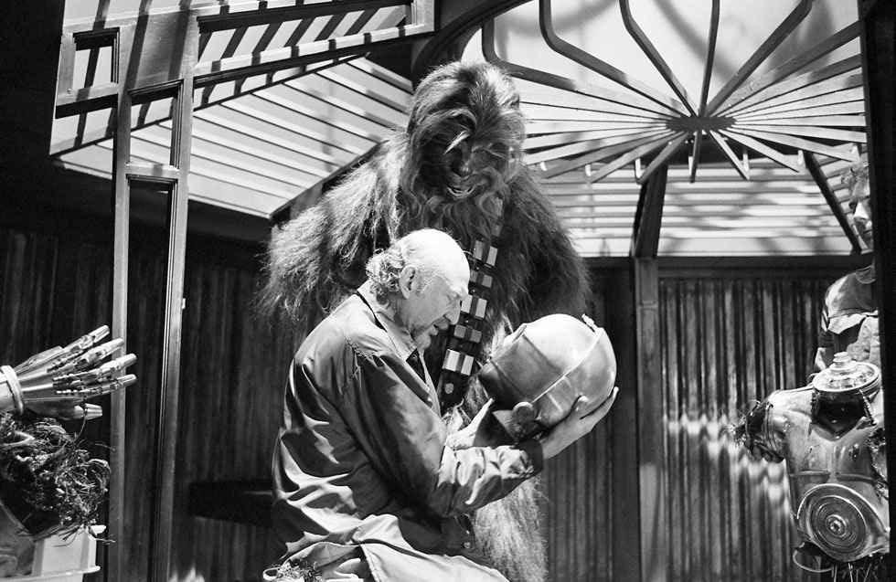 90 fotos únicas dos bastidores de Star Wars 27