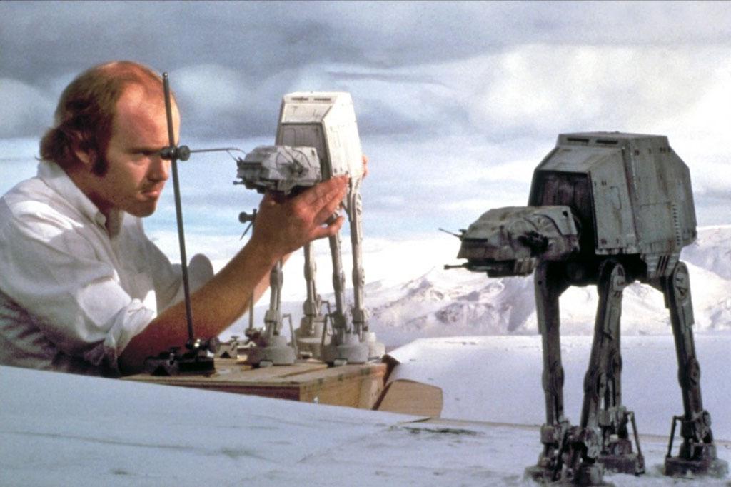 90 fotos únicas dos bastidores de Star Wars 29