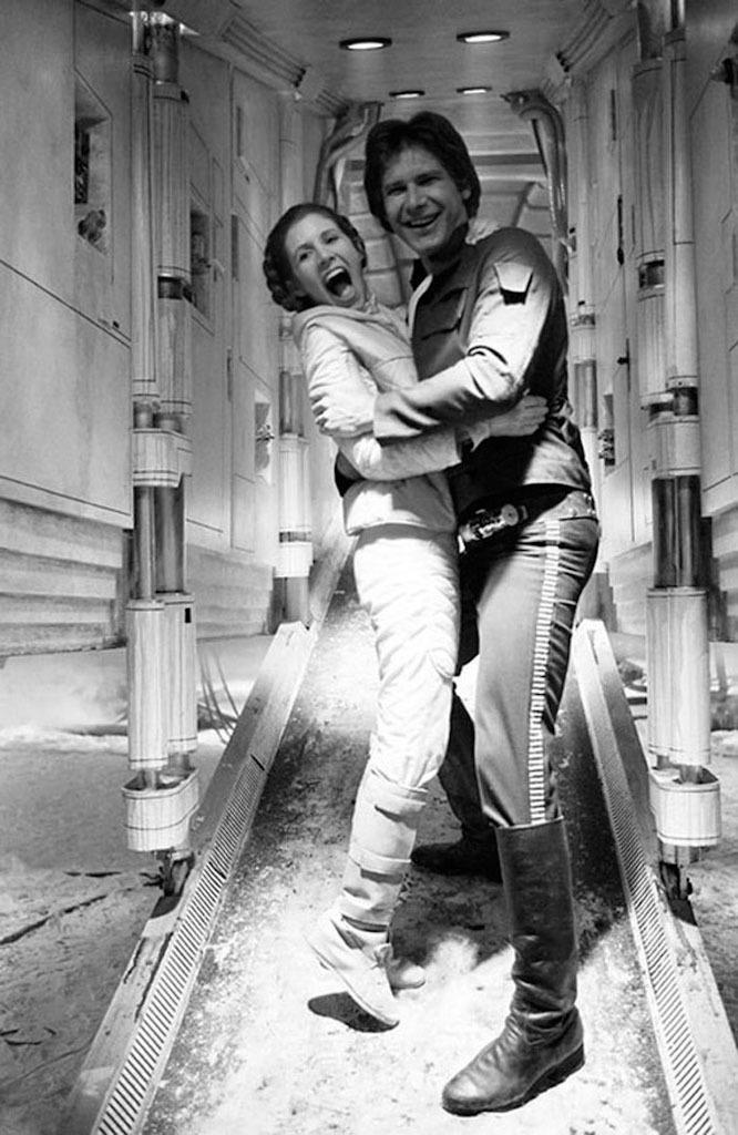 90 fotos únicas dos bastidores de Star Wars 35