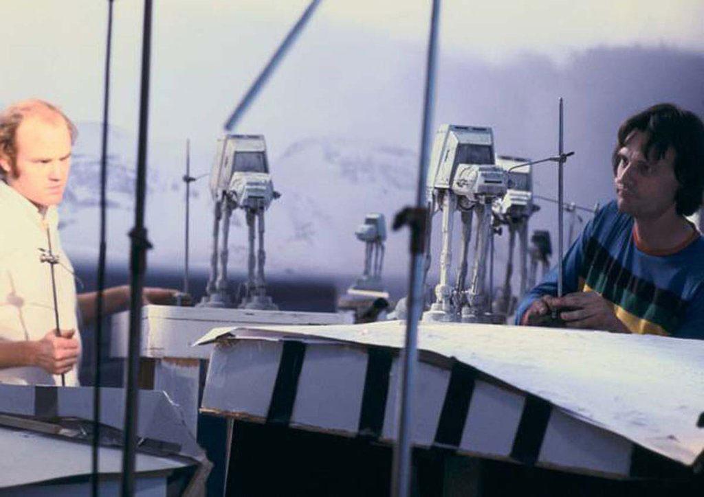 90 fotos únicas dos bastidores de Star Wars 36