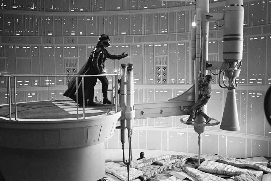 90 fotos únicas dos bastidores de Star Wars 37