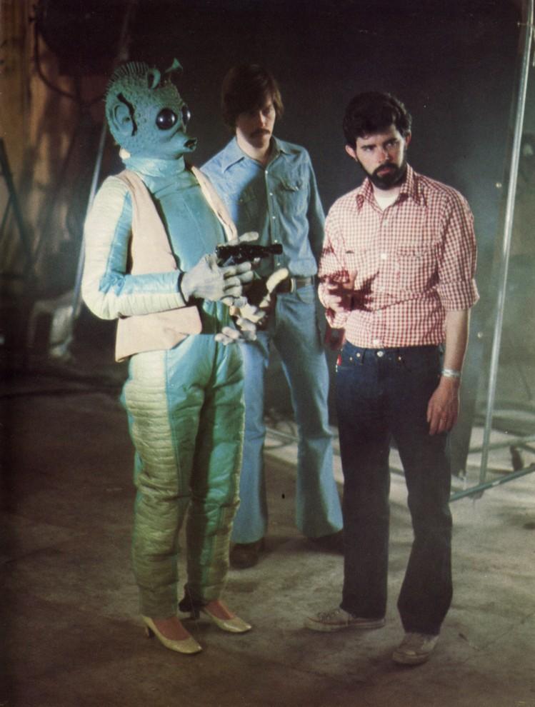 90 fotos únicas dos bastidores de Star Wars 42