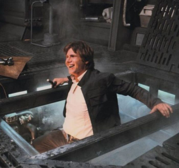 90 fotos únicas dos bastidores de Star Wars 44