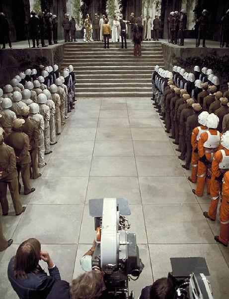 90 fotos únicas dos bastidores de Star Wars 45