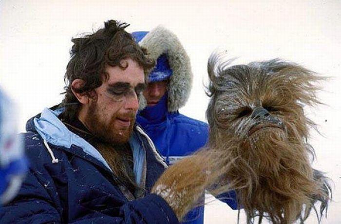 90 fotos únicas dos bastidores de Star Wars 46
