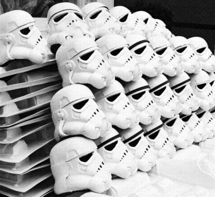 90 fotos únicas dos bastidores de Star Wars 54