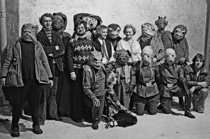90 fotos únicas dos bastidores de Star Wars 55