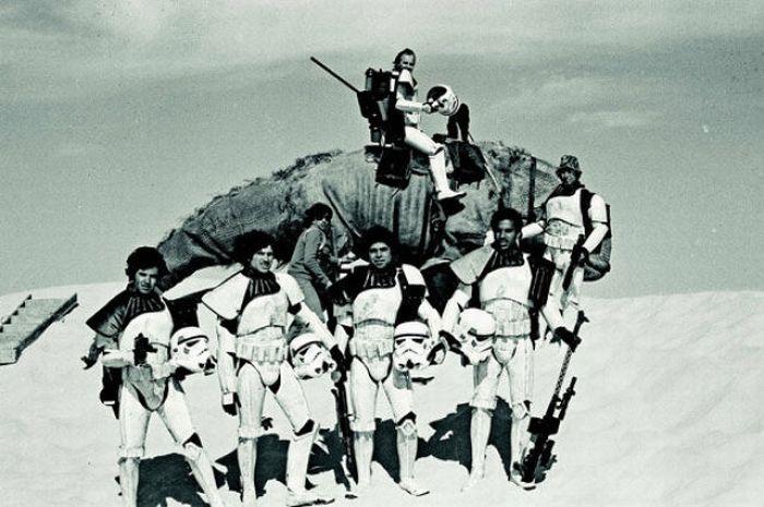 90 fotos únicas dos bastidores de Star Wars 56