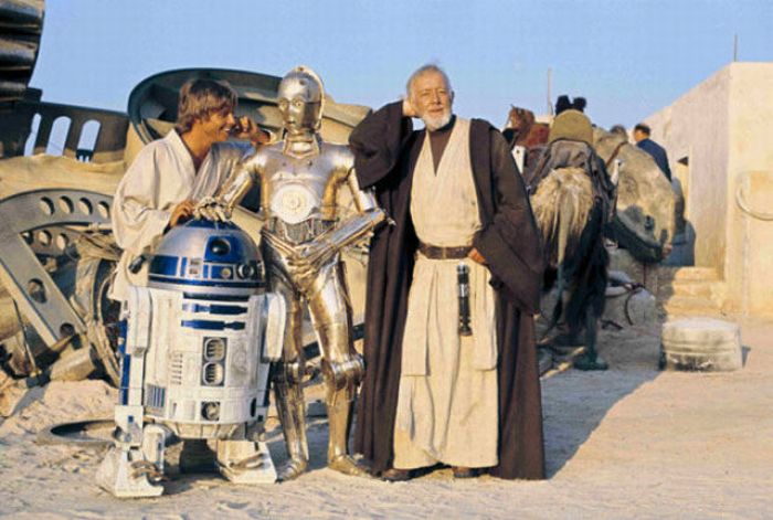 90 fotos únicas dos bastidores de Star Wars 57
