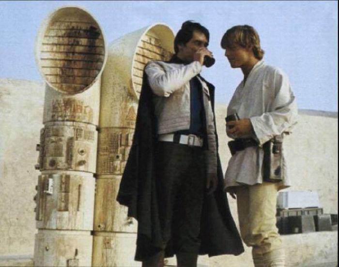 90 fotos únicas dos bastidores de Star Wars 58