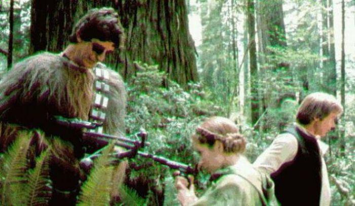 90 fotos únicas dos bastidores de Star Wars 60