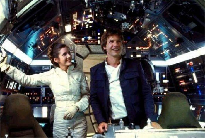 90 fotos únicas dos bastidores de Star Wars 61