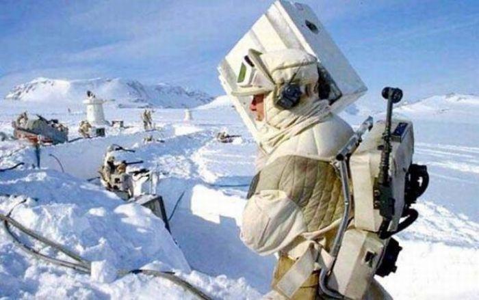 90 fotos únicas dos bastidores de Star Wars 67