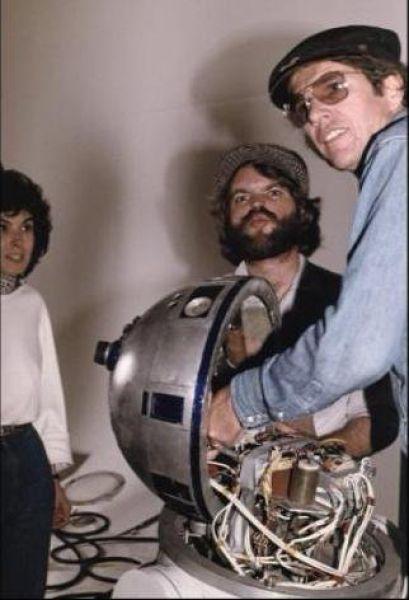 90 fotos únicas dos bastidores de Star Wars 68