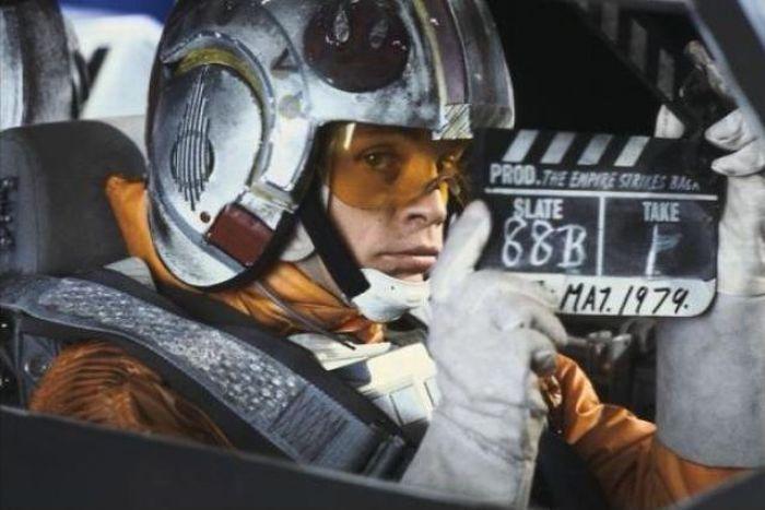 90 fotos únicas dos bastidores de Star Wars 70