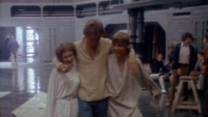 90 fotos únicas dos bastidores de Star Wars 77