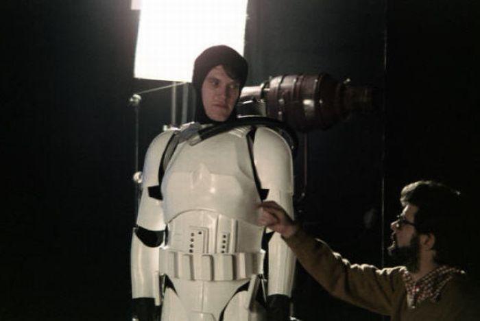 90 fotos únicas dos bastidores de Star Wars 80