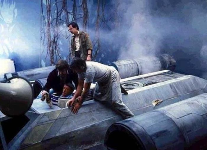 90 fotos únicas dos bastidores de Star Wars 84