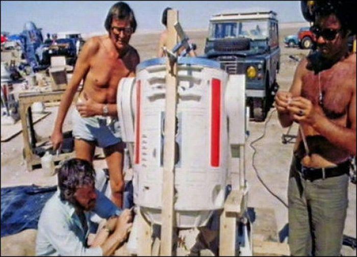 90 fotos únicas dos bastidores de Star Wars 85