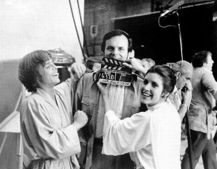 90 fotos únicas dos bastidores de Star Wars 88