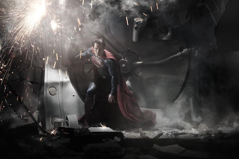 Primeira imagem de Henry Cavill como Super-Homem