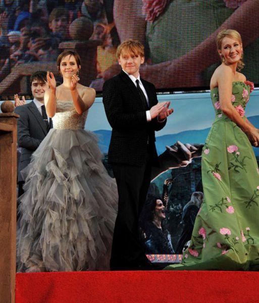 Estrelas de Harry Potter no primeiro e último filme 08