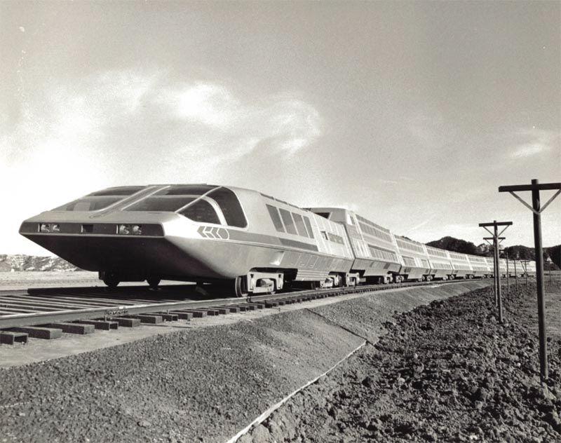 O trem-bala movido a energia nuclear: o 'Supertrem' da década de 1970 02