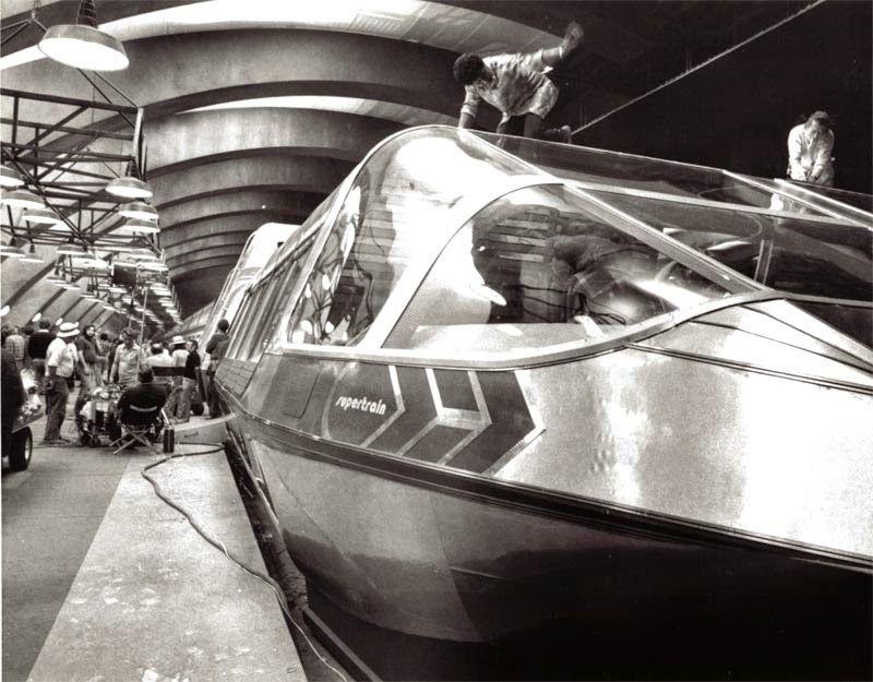 O trem-bala movido a energia nuclear: o 'Supertrem' da década de 1970 04