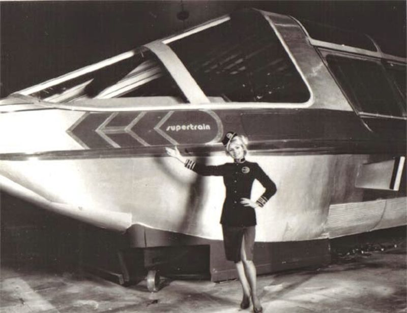 O trem-bala movido a energia nuclear: o 'Supertrem' da década de 1970 05